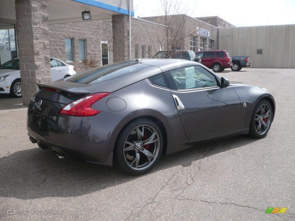 40th anniversary graphite 2010 nissan 370z 40th. Black Bedroom Furniture Sets. Home Design Ideas