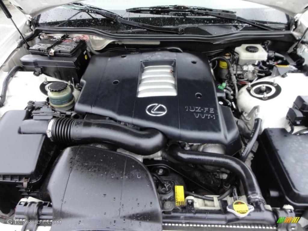 1999 Lexus GS 400 4.0 Liter DOHC 32-Valve VVT-i V8 Engine ...