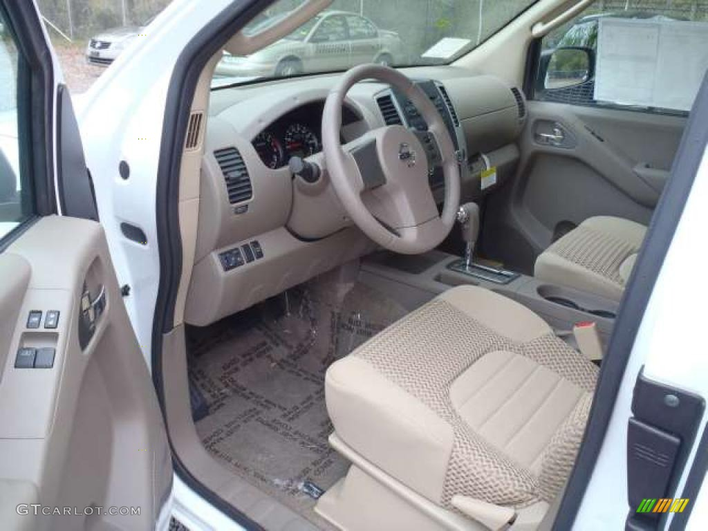 Beige Interior 2011 Nissan Frontier Sv V6 King Cab Photo 47445943