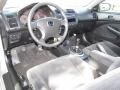 Black 2003 Honda Civic Interiors