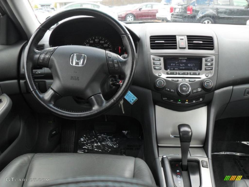 2007 Honda Accord Hybrid Sedan Gray Dashboard Photo ...