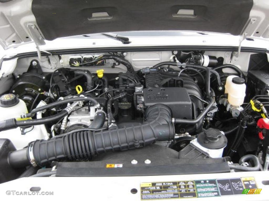 2011 Ford Ranger Xl Regular Cab 2 3 Liter Dohc 16 Valve 4