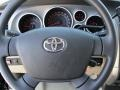 Sand Beige Steering Wheel Photo for 2011 Toyota Tundra #47460865