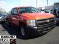2009 Victory Red Chevrolet Silverado 1500 Extended Cab 4x4  photo #1