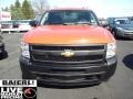 2009 Victory Red Chevrolet Silverado 1500 Extended Cab 4x4  photo #2