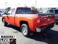 2009 Victory Red Chevrolet Silverado 1500 Extended Cab 4x4  photo #4