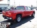 2009 Victory Red Chevrolet Silverado 1500 Extended Cab 4x4  photo #6