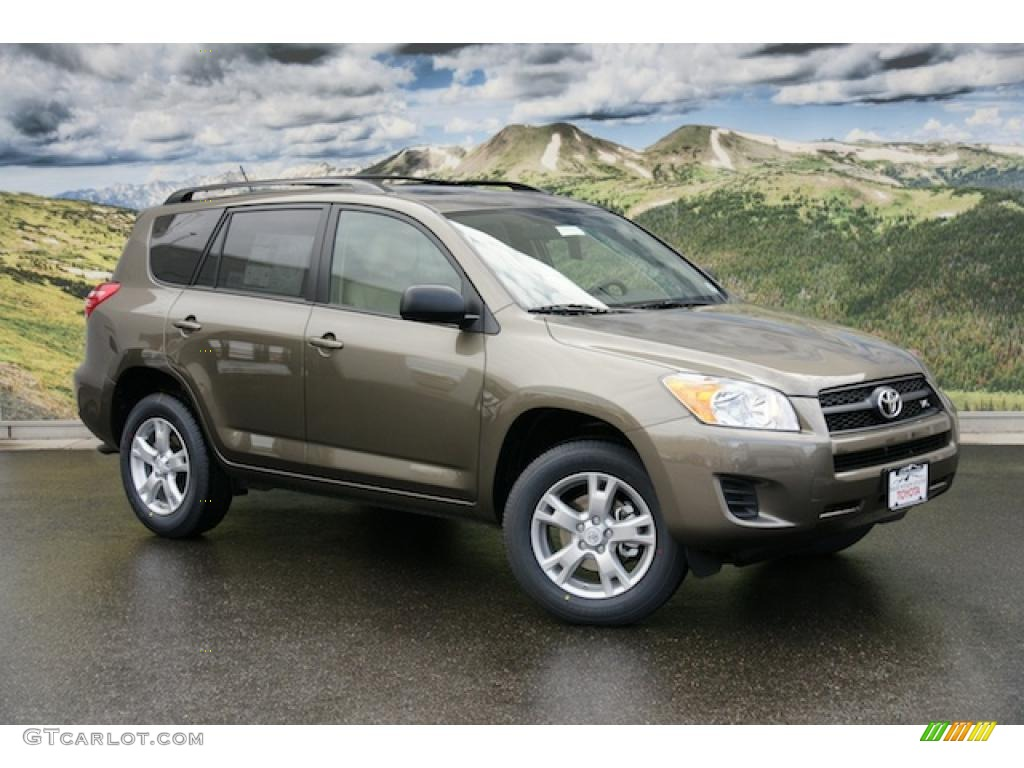 2011 sandy beach metallic toyota rav4 v6 4wd 47444947 car color galleries. Black Bedroom Furniture Sets. Home Design Ideas
