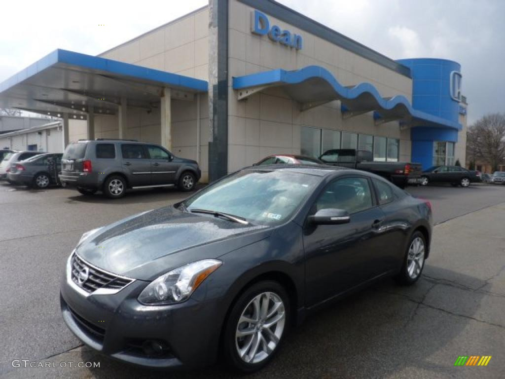 2011 metallic slate nissan altima 3 5 sr coupe 47445693. Black Bedroom Furniture Sets. Home Design Ideas