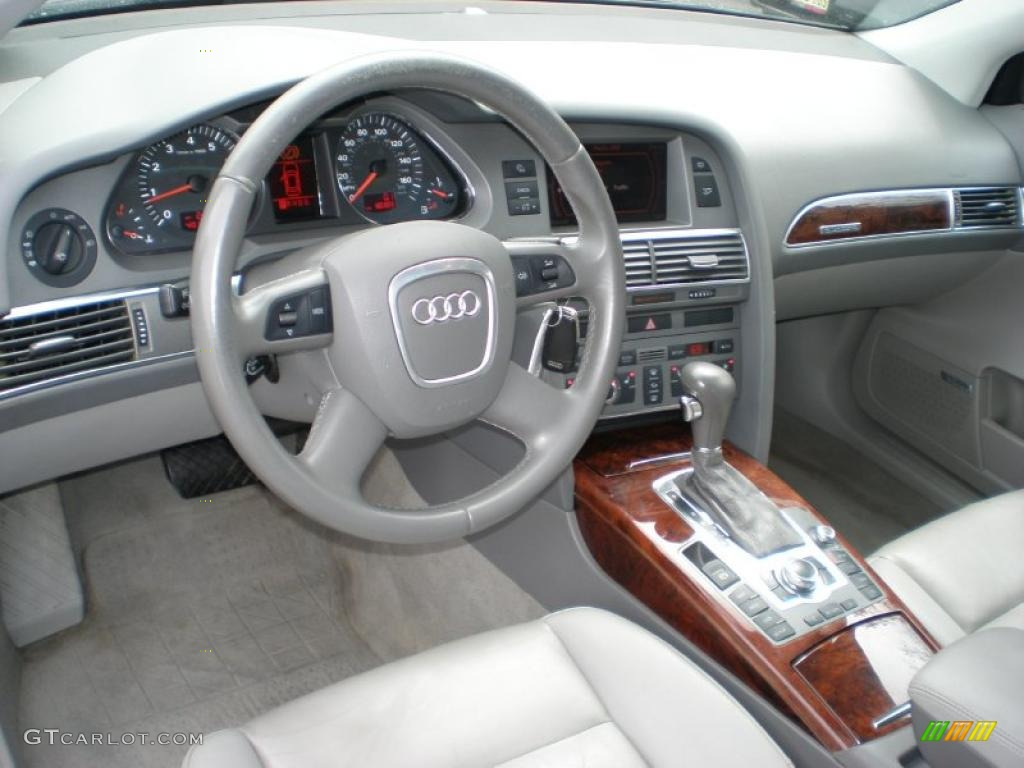 platinum interior 2005 audi a6 3 2 quattro sedan photo. Black Bedroom Furniture Sets. Home Design Ideas