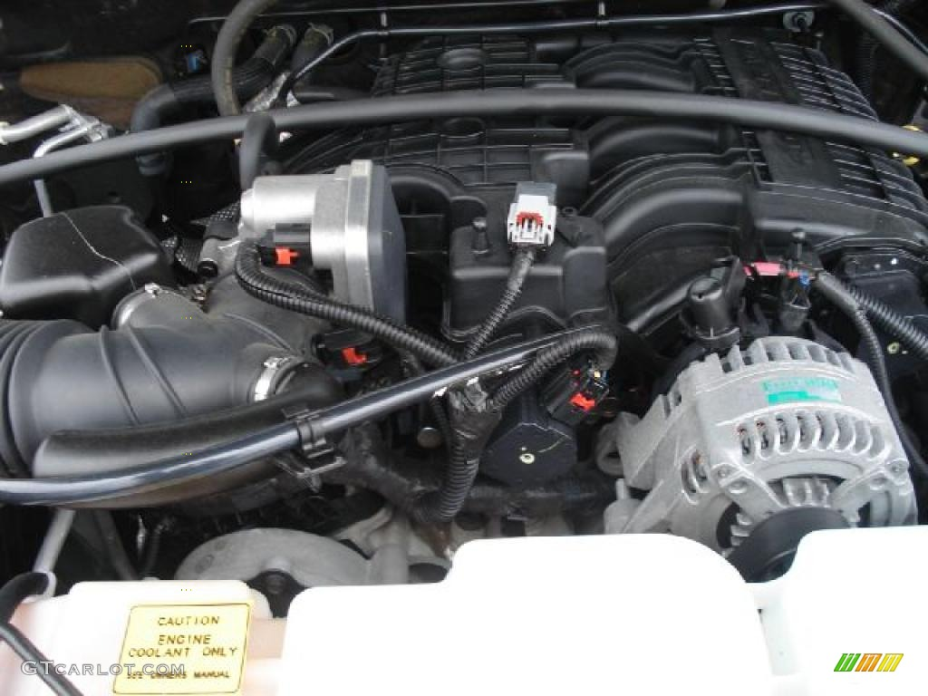 2007 Dodge Nitro R/T 4.0 Liter SOHC 24-Valve V6 Engine Photo #47486888 ...