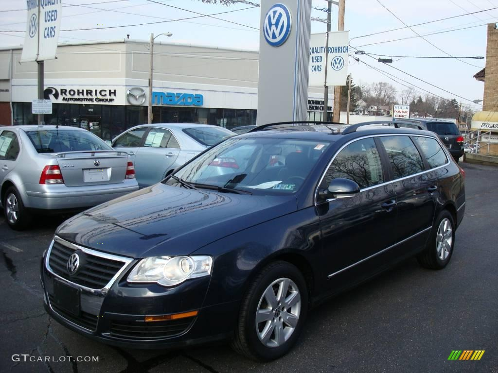 2007 blue graphite metallic volkswagen passat 2 0t wagon 4737556 car color. Black Bedroom Furniture Sets. Home Design Ideas