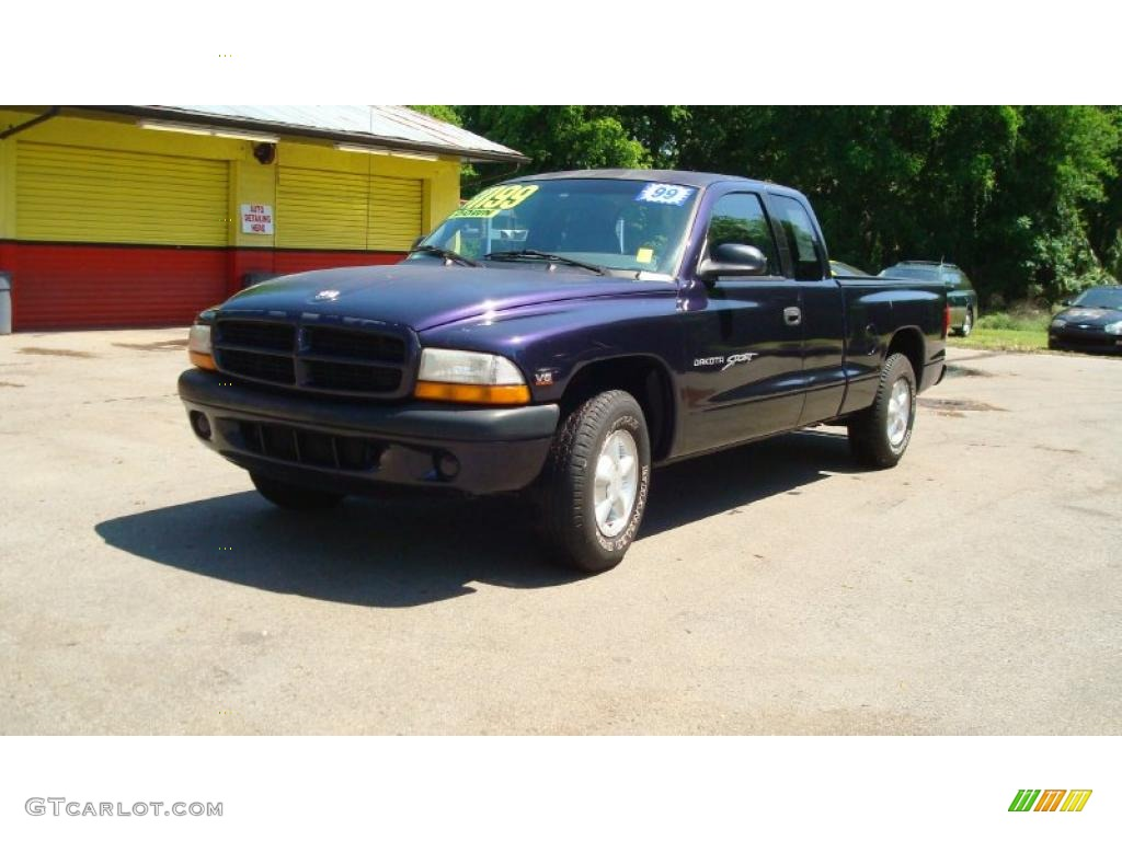1999 deep amethyst pearl dodge dakota sport extended cab. Black Bedroom Furniture Sets. Home Design Ideas