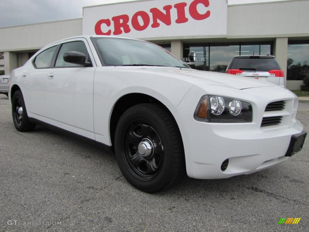 2010 Stone White Dodge Charger Police 47498986 Gtcarlot Com Car