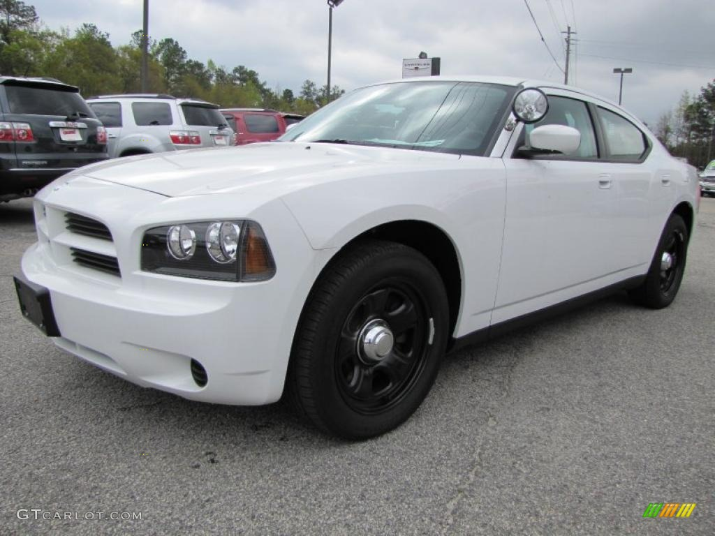 Stone White 2010 Dodge Charger Police Exterior Photo #47500618 ...