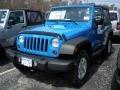 2011 Cosmos Blue Jeep Wrangler Sport S 4x4  photo #1