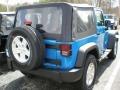 2011 Cosmos Blue Jeep Wrangler Sport S 4x4  photo #2