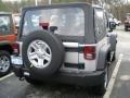 2011 Bright Silver Metallic Jeep Wrangler Sport 4x4  photo #2