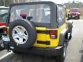 2011 Detonator Yellow Jeep Wrangler Sport 4x4  photo #2