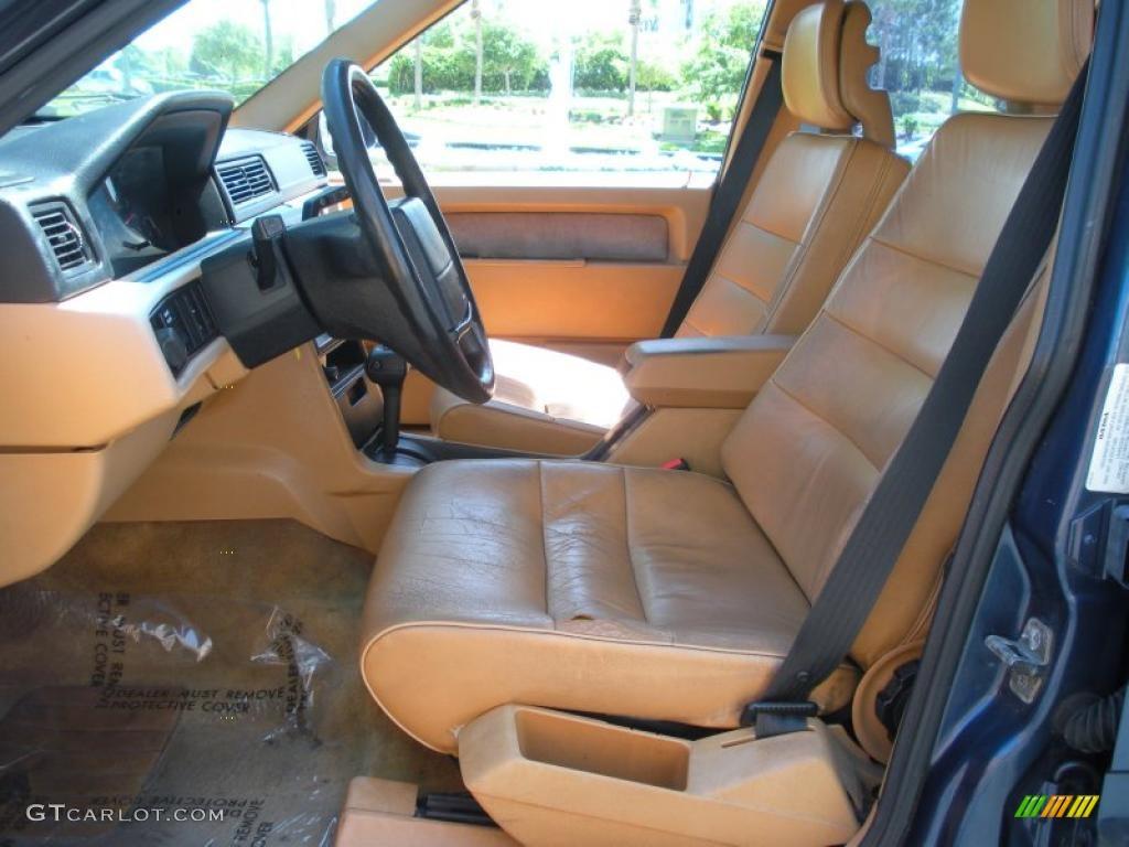 Beige Interior 1991 Volvo 740 Se Wagon Photo 47506810