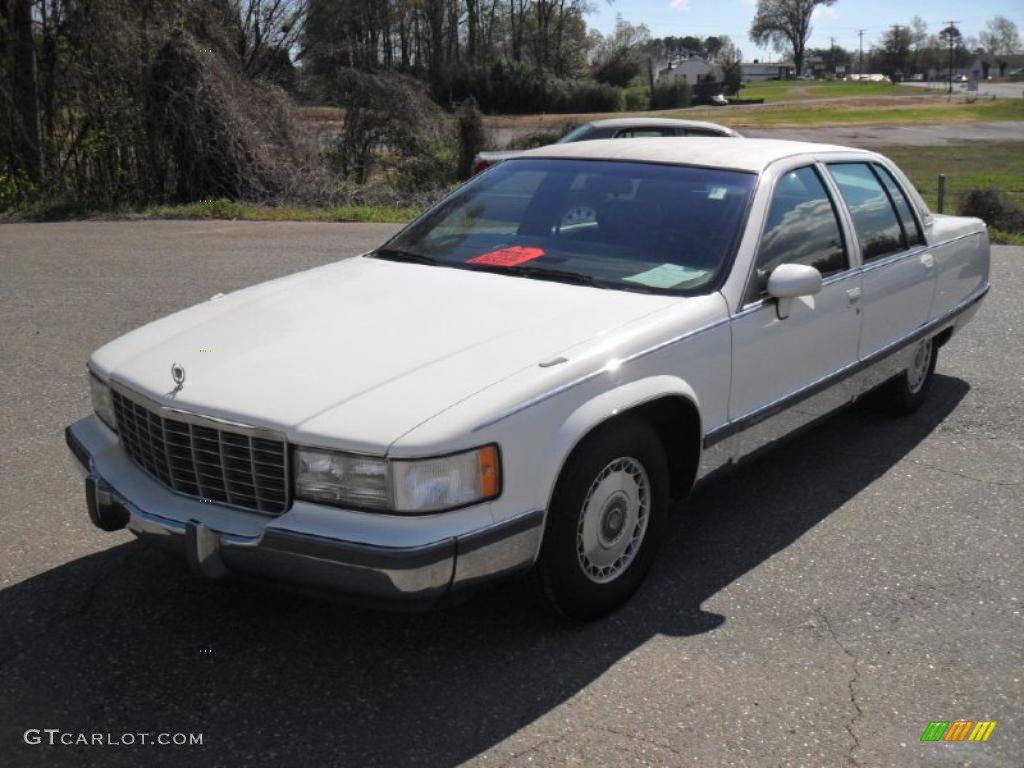 white 1994 cadillac fleetwood brougham sedan exterior photo 47508874. Cars Review. Best American Auto & Cars Review