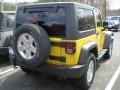 2011 Detonator Yellow Jeep Wrangler Sport S 4x4  photo #2
