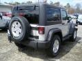 2011 Bright Silver Metallic Jeep Wrangler Sport S 4x4  photo #2