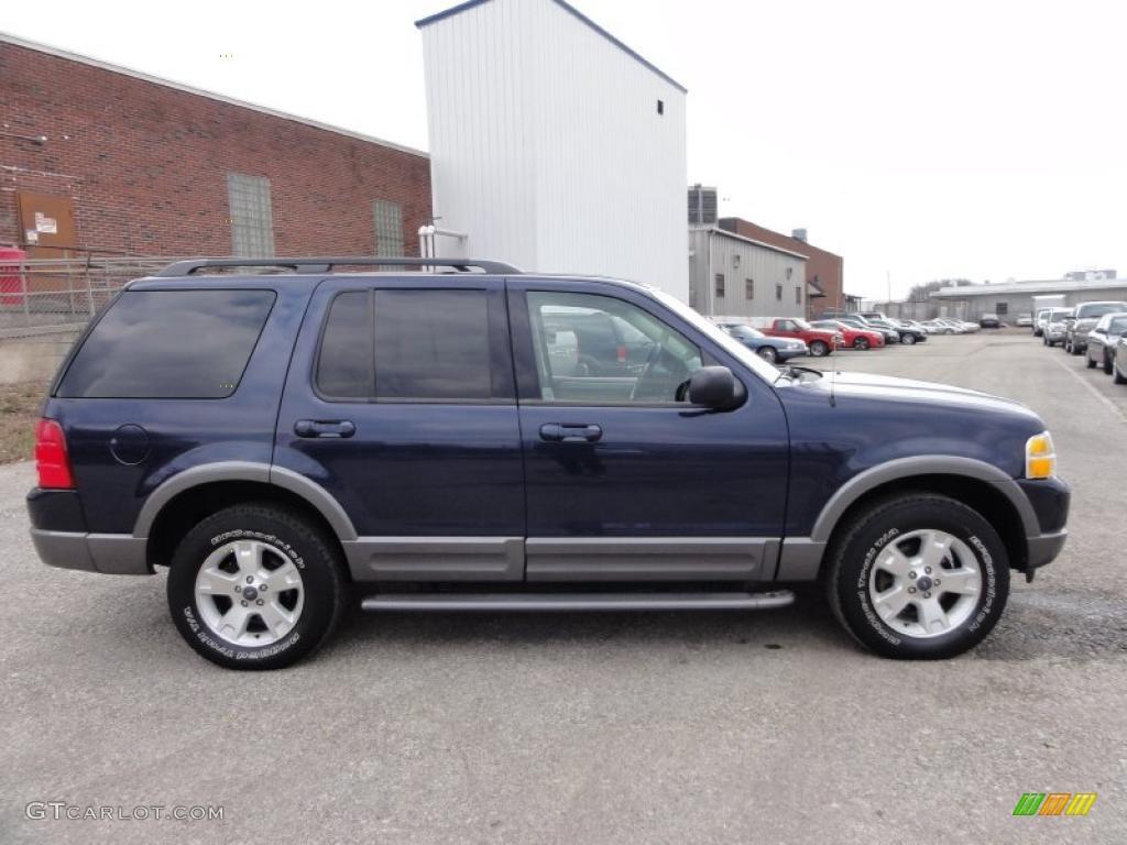 true blue metallic 2003 ford explorer xlt 4x4 exterior. Cars Review. Best American Auto & Cars Review