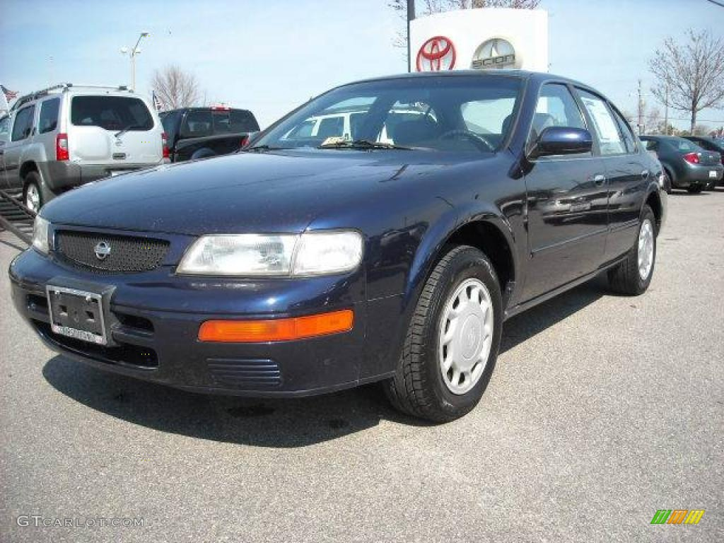 1996 starfire blue pearl nissan maxima gxe 4737196 car color galleries. Black Bedroom Furniture Sets. Home Design Ideas