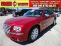 Inferno Red Crystal Pearl 2008 Chrysler 300 C HEMI Heritage Edition