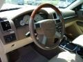Medium Pebble Beige/Cream Steering Wheel Photo for 2008 Chrysler 300 #47517271