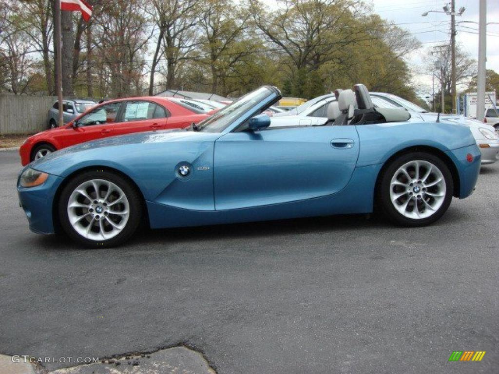 2003 Maldives Blue Metallic Bmw Z4 2 5i Roadster 47498840