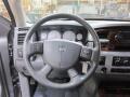 2009 Dodge Ram 3500 Medium Slate Gray Interior Steering Wheel Photo