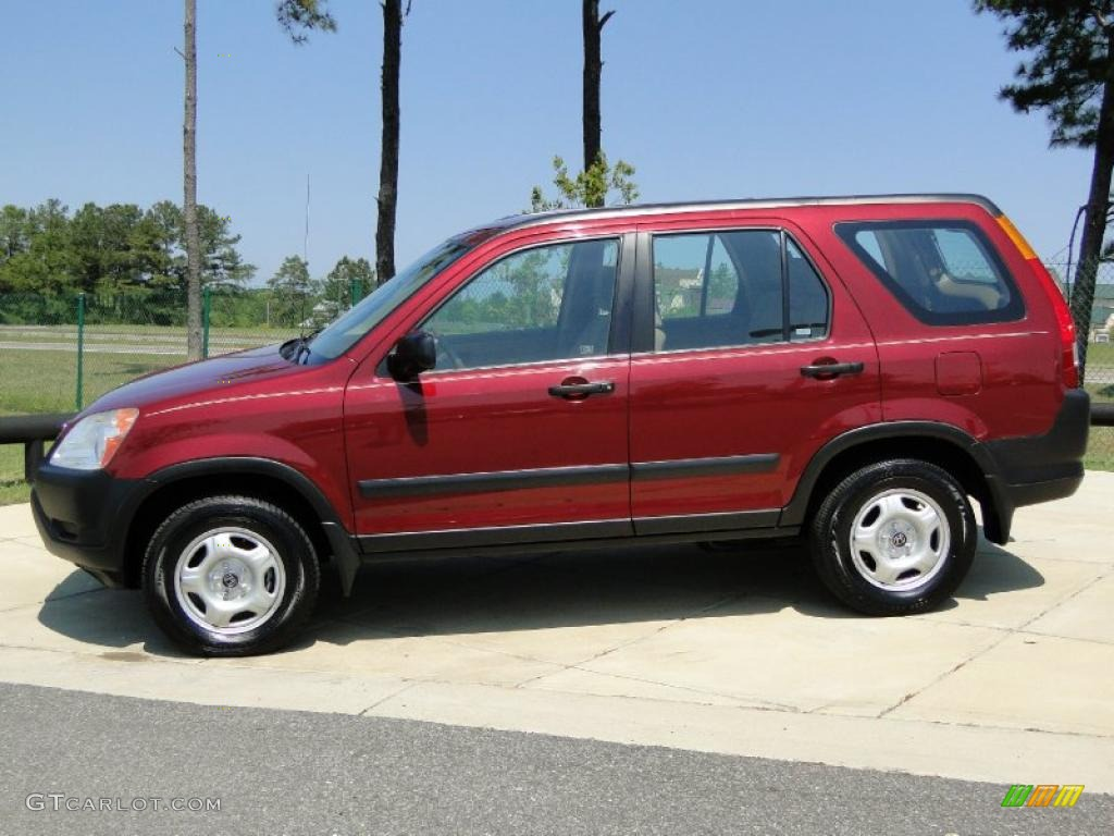 Chianti Red Pearl 2003 Honda Cr V Lx Exterior Photo