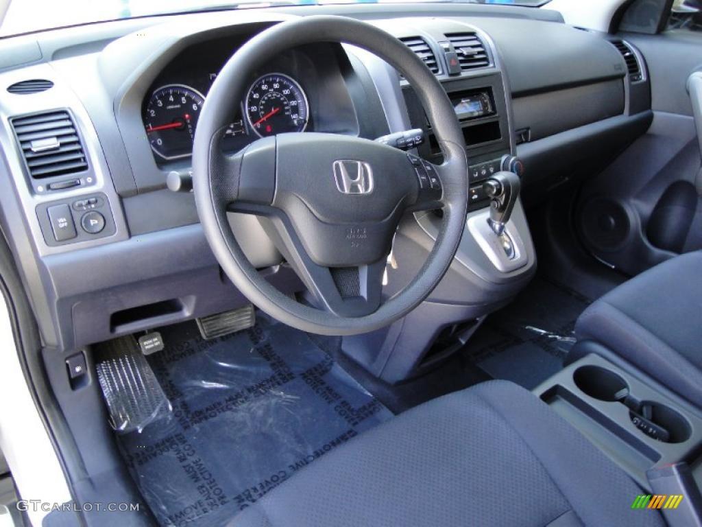Gray Interior 2009 Honda Cr V Lx Photo 47520835