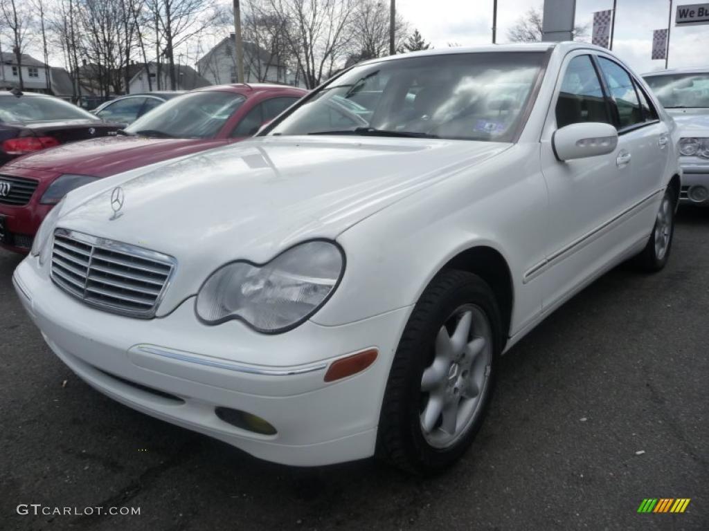 2002 alabaster white mercedes benz c 240 sedan 47498954 for Mercedes benz c 240