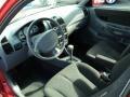 Gray 2005 Hyundai Accent Interiors