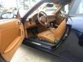 Natural Leather Brown 2007 Porsche 911 Targa 4S Interior Color