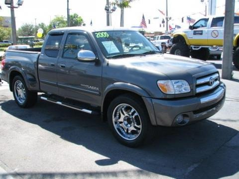 2005 Toyota Tundra SR5 TRD Sport Access Cab Data, Info and Specs