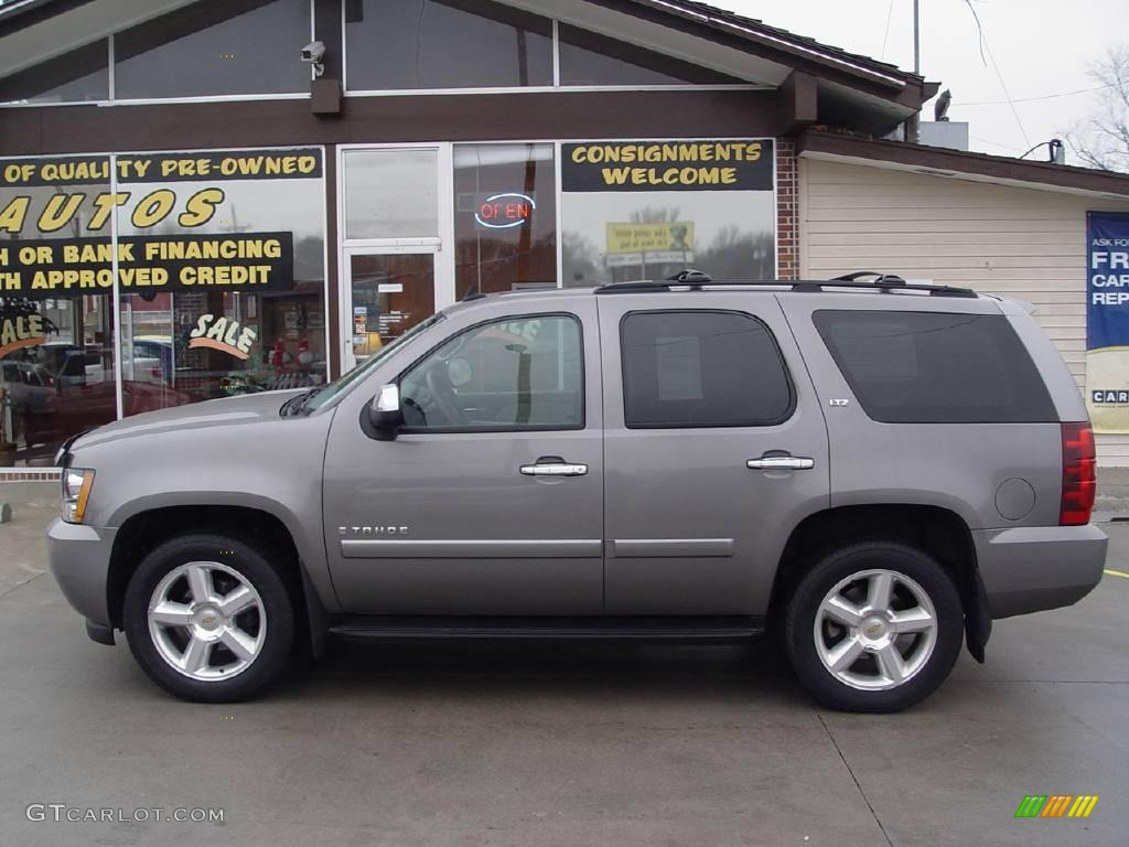 2007 graystone metallic chevrolet tahoe ltz 4x4 4745347 car color galleries. Black Bedroom Furniture Sets. Home Design Ideas