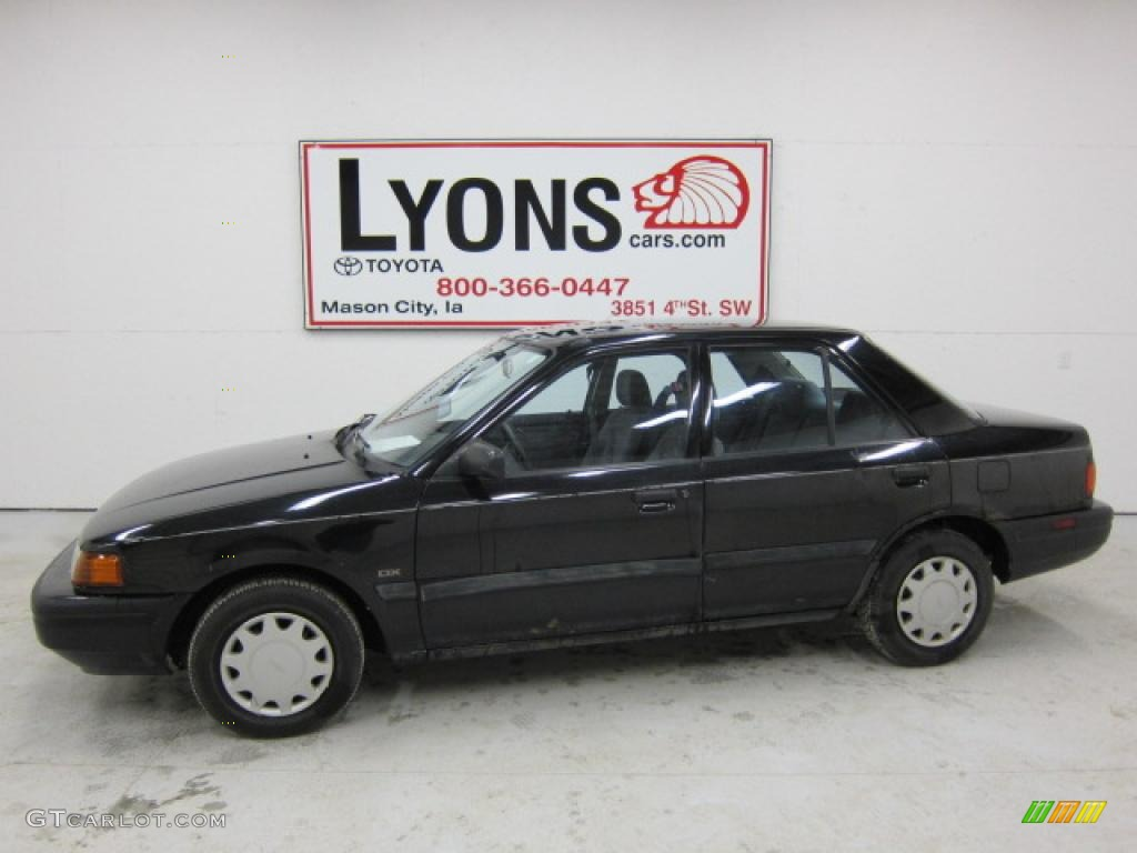 1993 brilliant black mazda protege dx 47538775 gtcarlot com car color galleries gtcarlot com