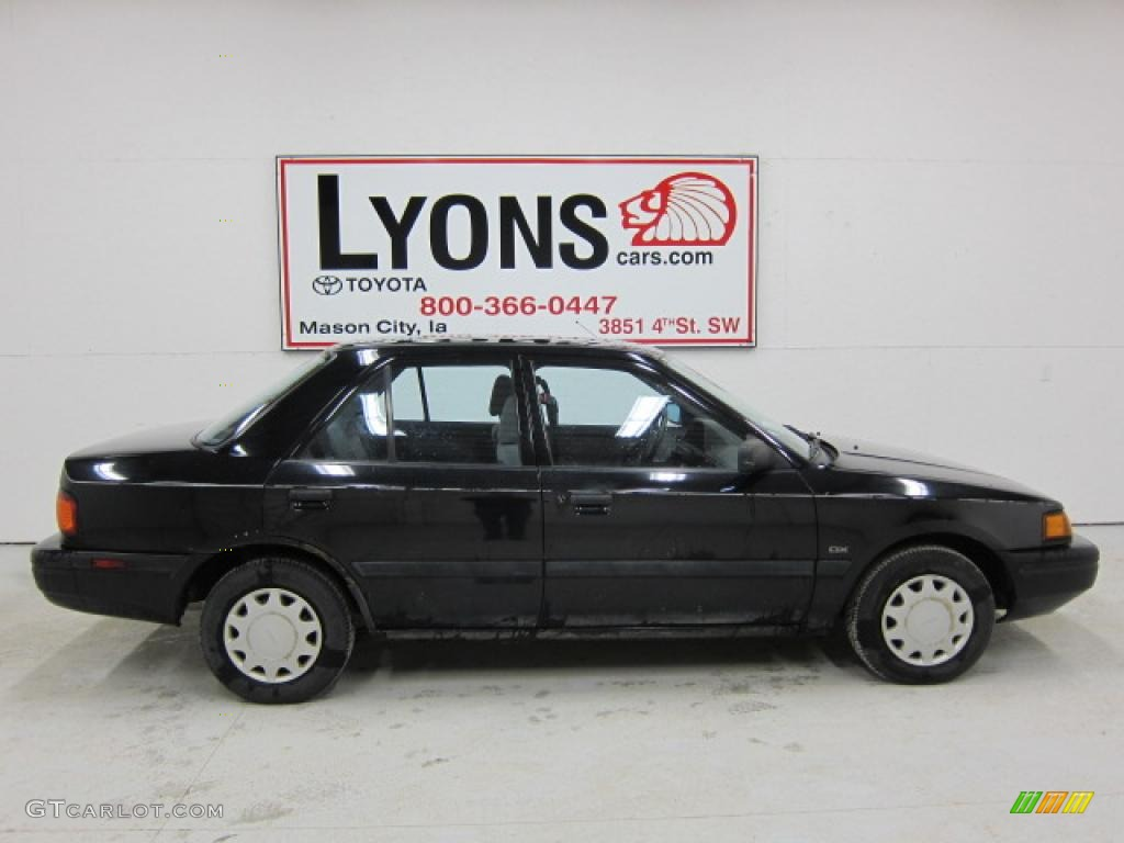 1993 brilliant black mazda protege dx 47538775 photo 2 gtcarlot com car color galleries gtcarlot com