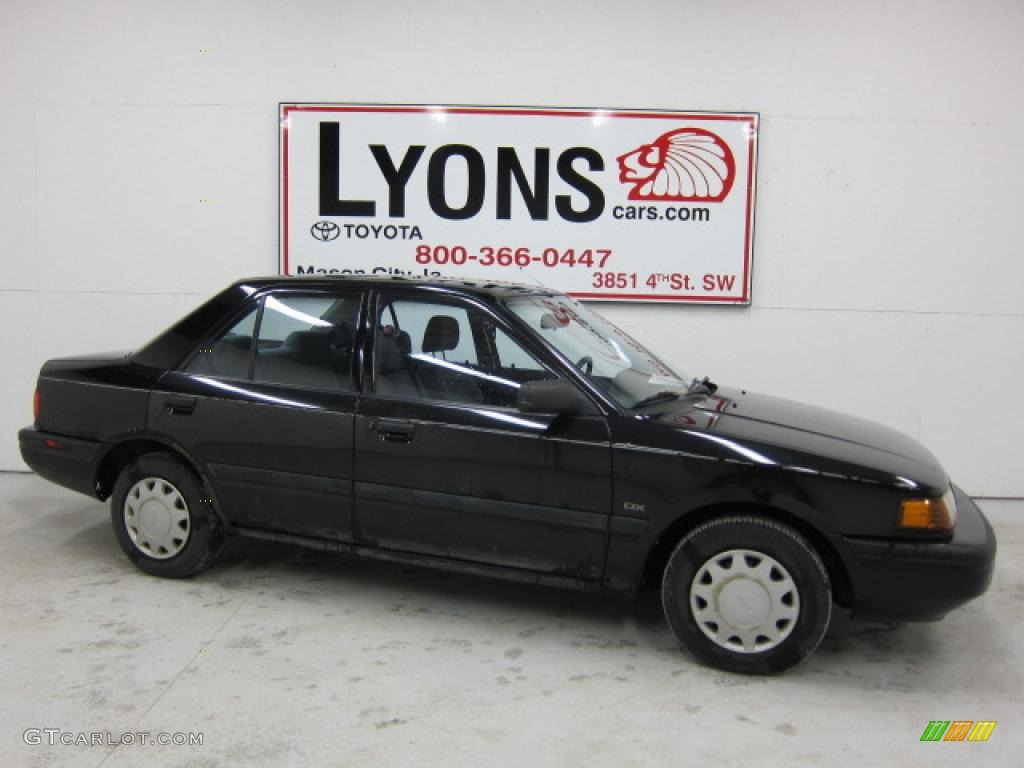 1993 brilliant black mazda protege dx 47538775 photo 3 gtcarlot com car color galleries gtcarlot com