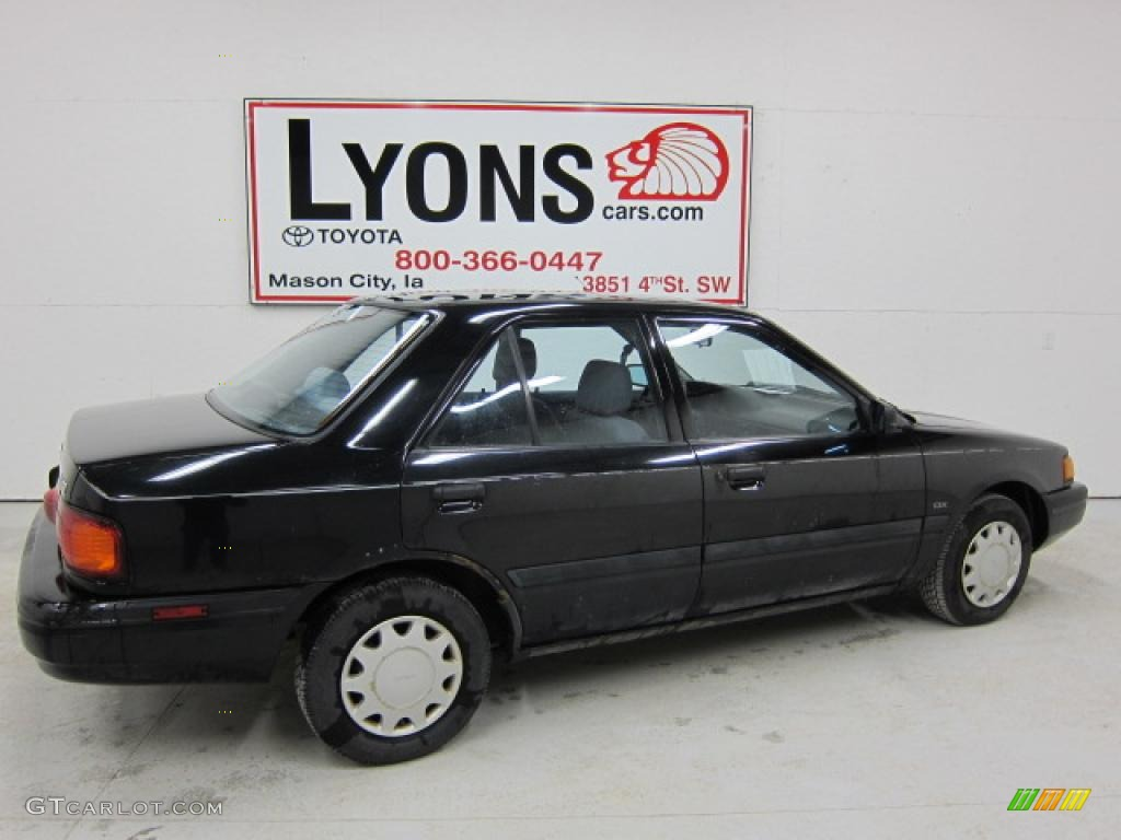 1993 brilliant black mazda protege dx 47538775 photo 13 gtcarlot com car color galleries gtcarlot com