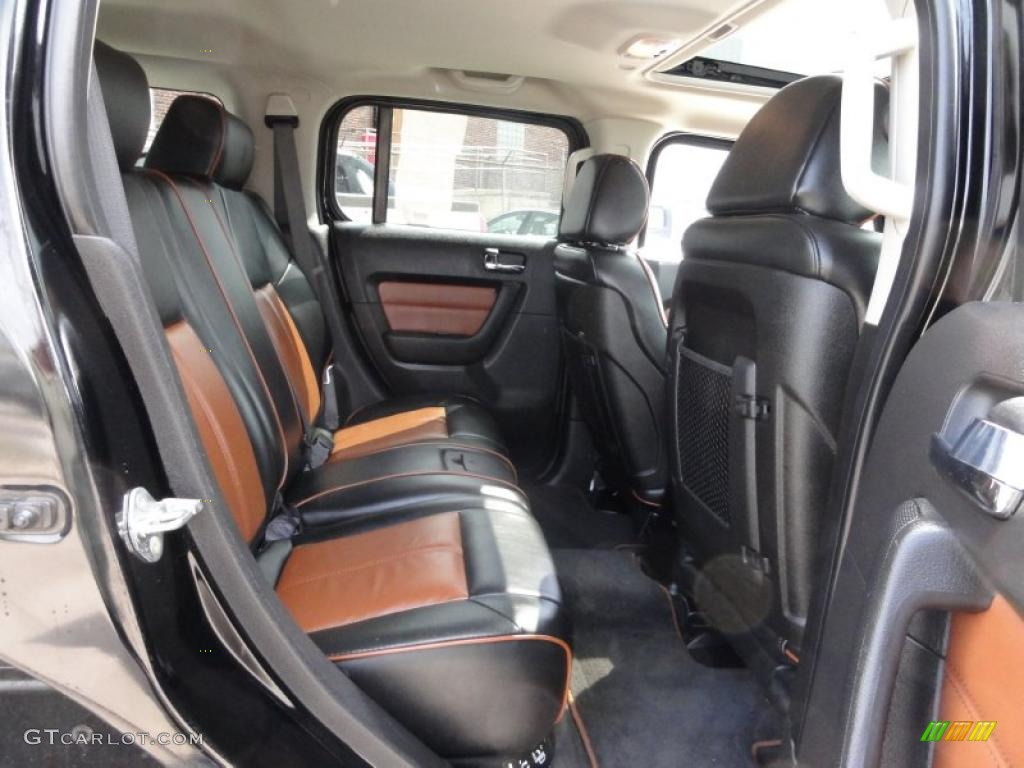 Ebony Black Morocco Interior 2007 Hummer H3 Standard H3 Model Photo 47555960
