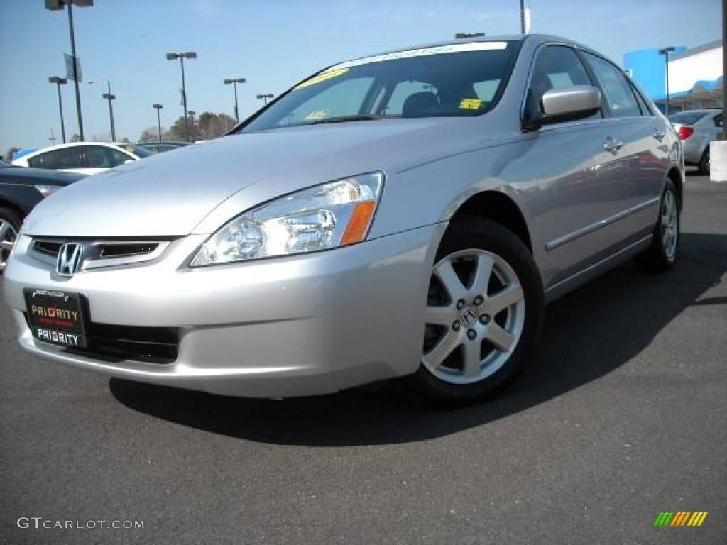 2005 satin silver metallic honda accord ex l v6 sedan for Honda accord ex l v6