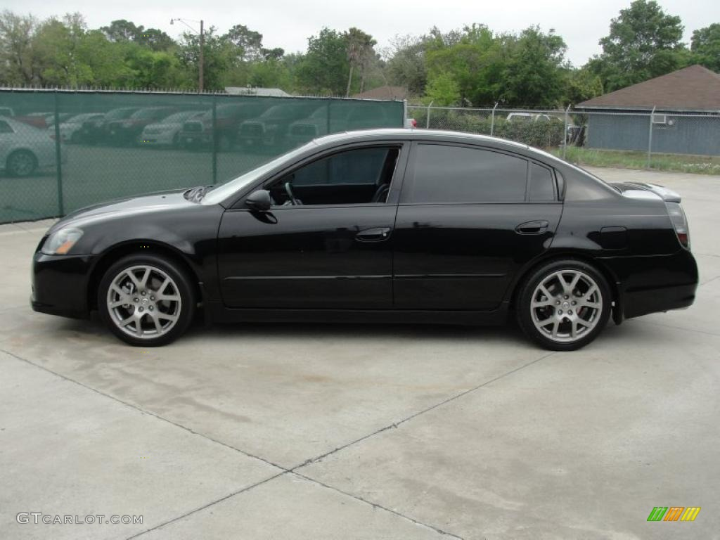 super black 2006 nissan altima 3 5 se r exterior photo 47571602. Black Bedroom Furniture Sets. Home Design Ideas