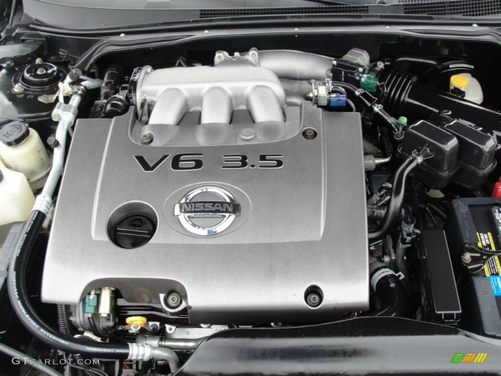 2006 Nissan Altima 3 5 Se R 3 5 Liter Dohc 24 Valve Vvt V6