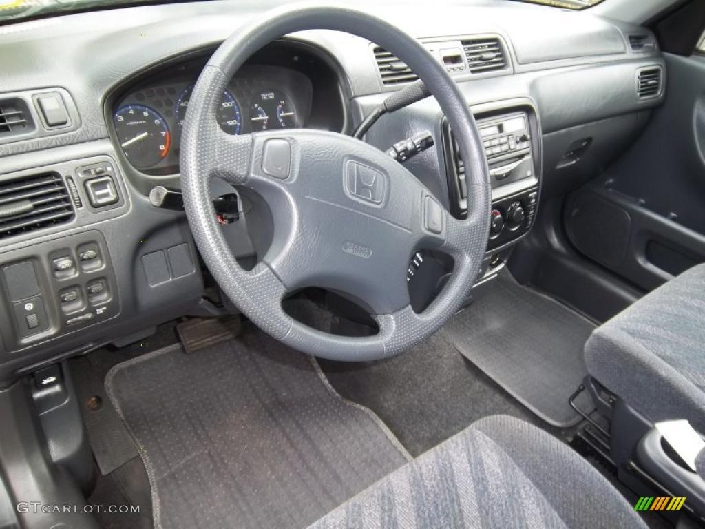 Charcoal Interior 1999 Honda Cr V Lx 4wd Photo 47581919 Gtcarlot Com