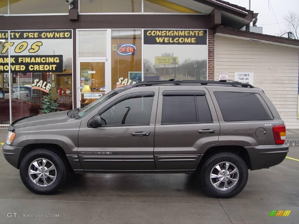 2000 taupe frost metallic jeep grand cherokee limited 4x4. Black Bedroom Furniture Sets. Home Design Ideas